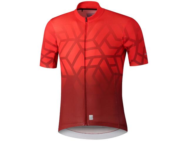 Shimano Breakaway Jersey Men, red